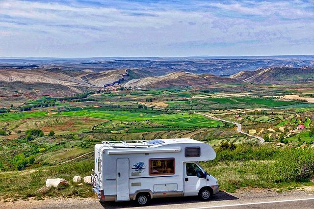 camping en autocaravana