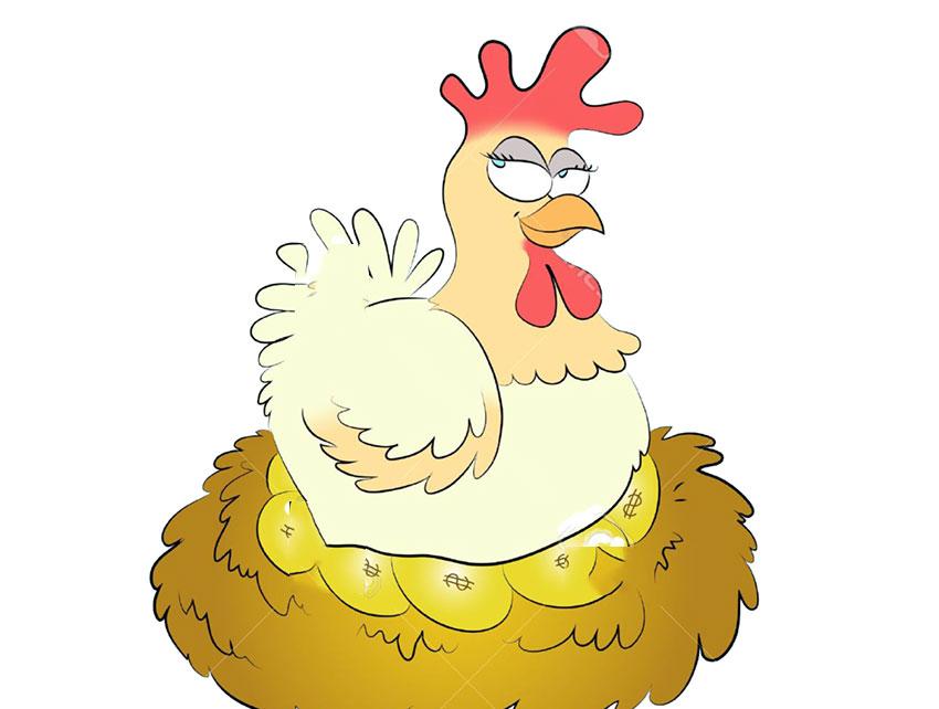 cuento de la gallina de los huevos de oro