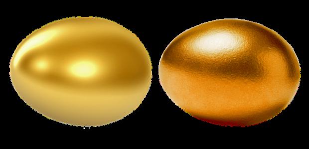 huevos de oro