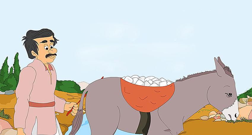el burro y su maestro