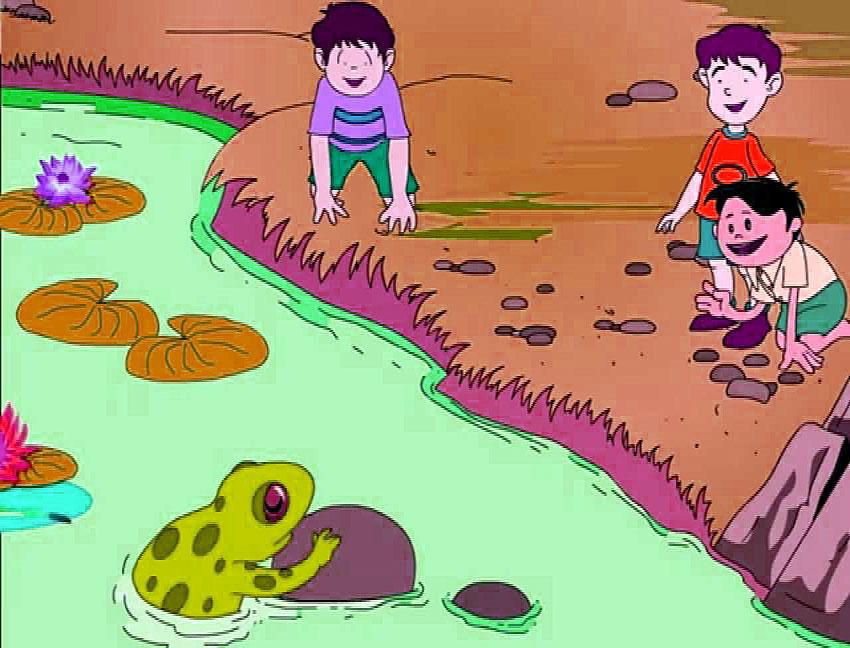 fabulas de los niños y las ranas