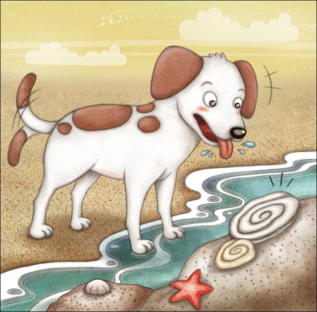 el perro y las ostras