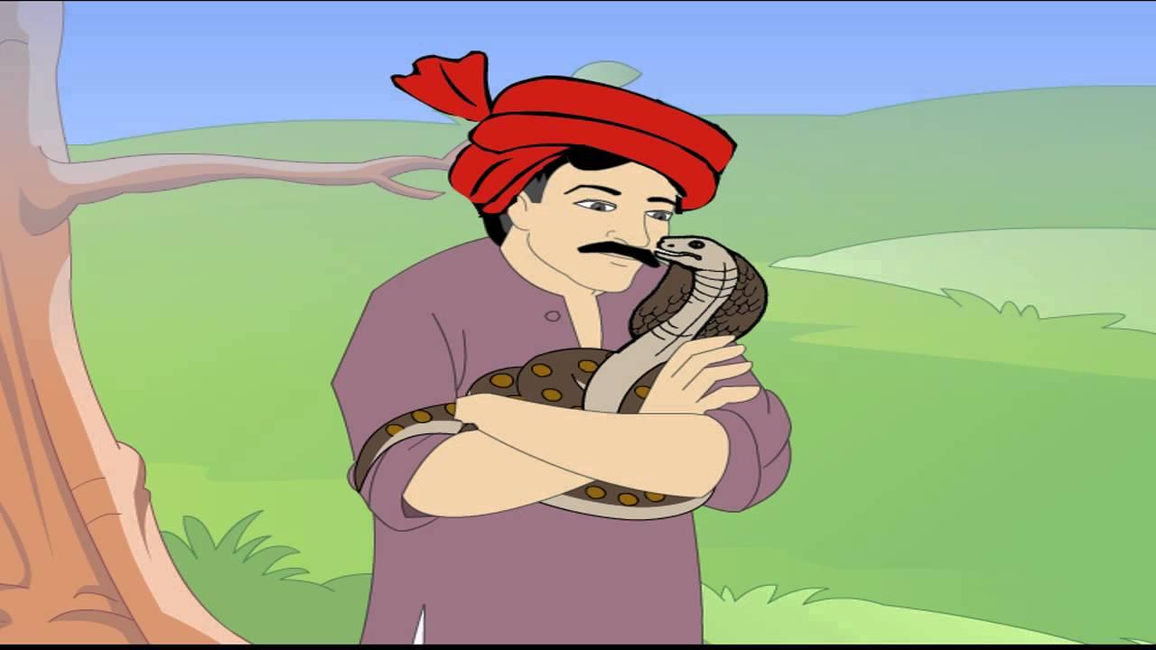 el grangero y la serpiente