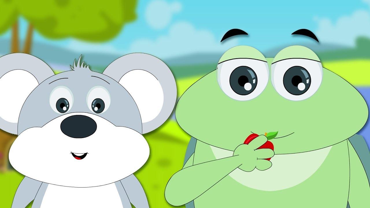 la rana y el raton