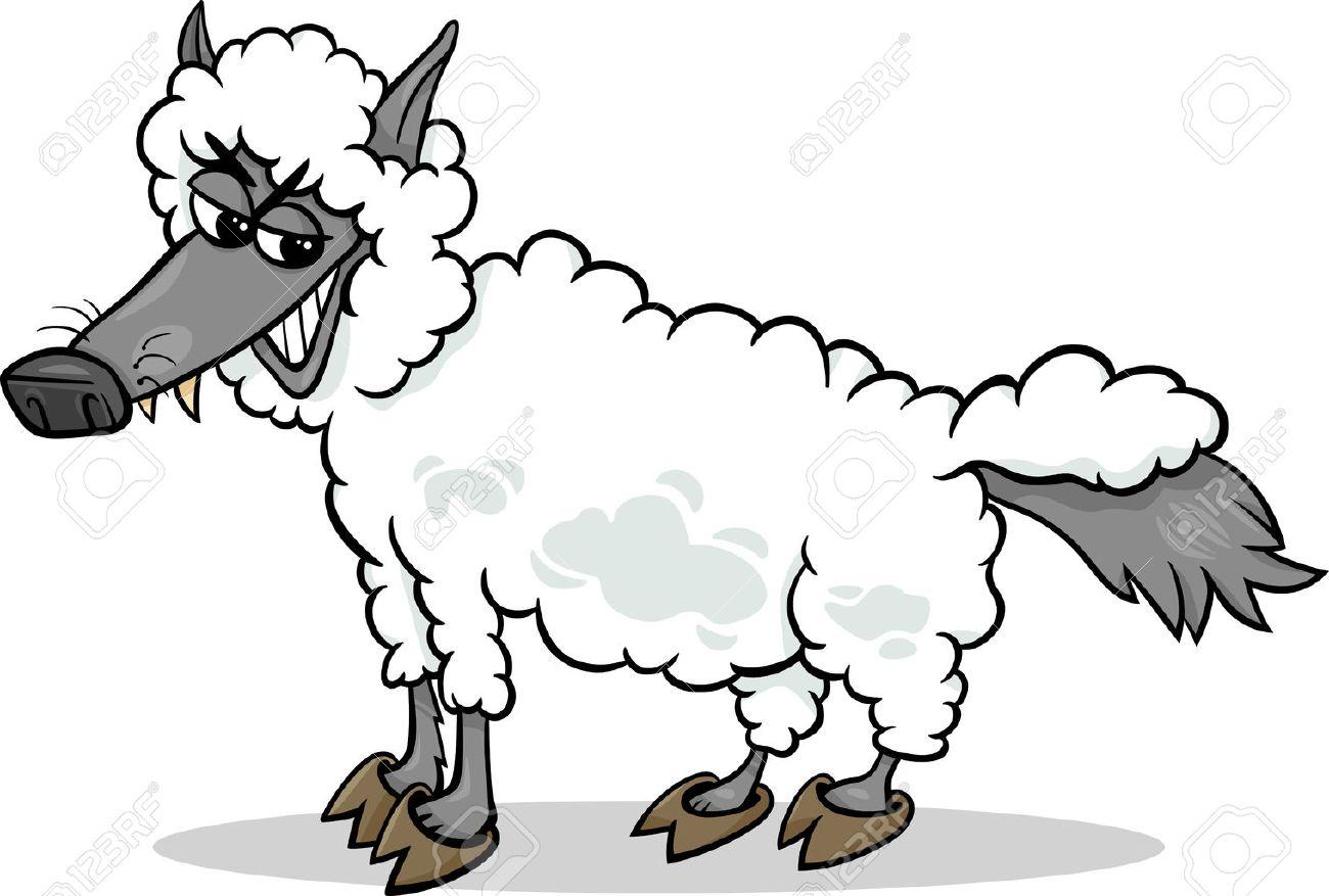 el lobo con piel de cordero