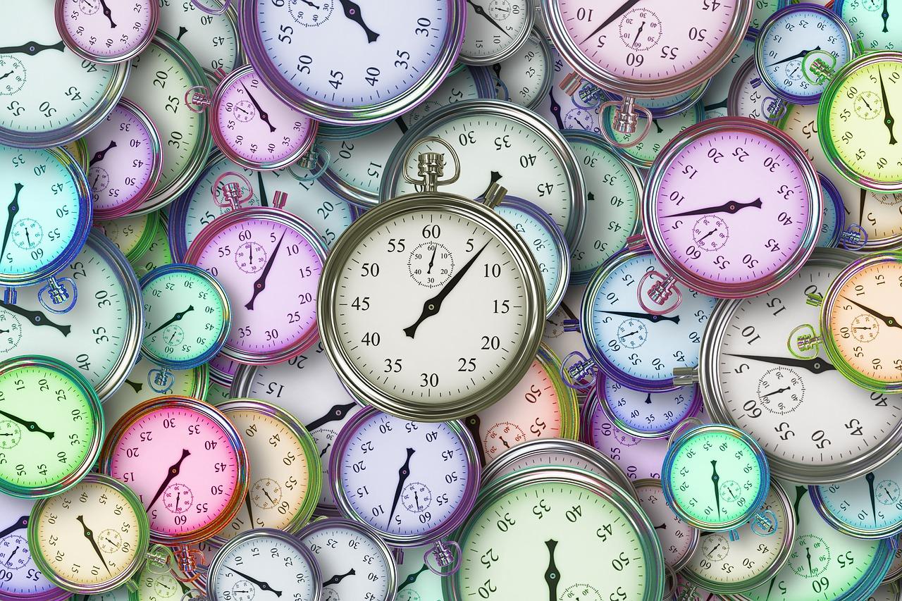 gestionar el tiempo