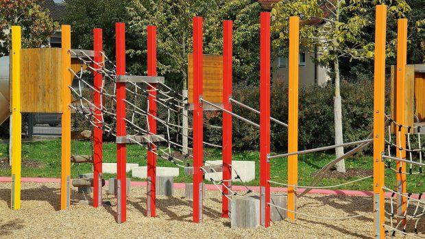 seguridad infantil en parques