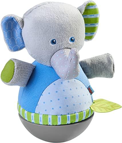 HABA 305824 - Figura elefante de pie, figura de pie a partir de 6 meses