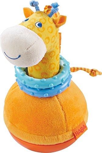 HABA 302571 - Figura de pie de jirafa, juguete para niños pequeños