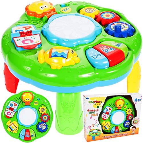 mesa de musica para bebes