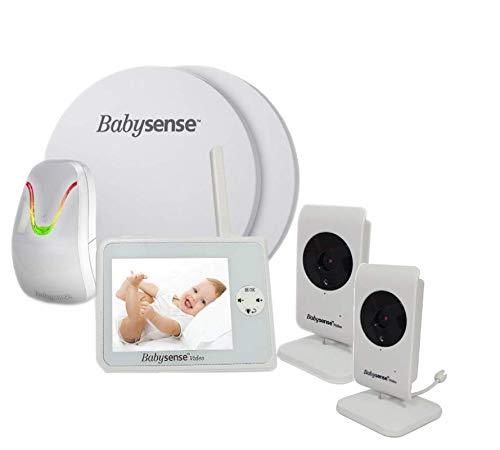 colchoneta con sensores para monitorizar al bebe