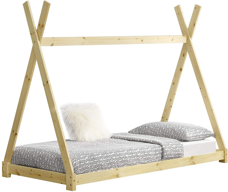 cama de piso montessori